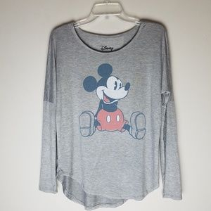 Nwot Disney micky mouse xs long sleeve top